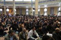حضور کارکنان شرکت آب و فاضلاب شهری استان ایلام در راهپیمایی روز 9 دی