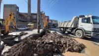 اصلاح   100 متر شبکه آب در شهر ملکشاهی