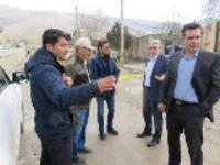 بازدید مدیرعامل شرکت آب و فاضلاب شهری استان از امور آبفای شهر ایوان