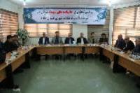 مراسم تجلیل از خانواده های شهداء شاغل در شرکت آب و فاضلاب شهری استان ایلام برگزار شد