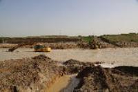 شکستگی خط انتقال آب شهر مهران رفع گردید