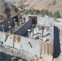 فاز دوم ساماندهی سراب  چشمه شهر آبدانان با پیشرفت فیزیکی 90 درصد در حال اجرا است