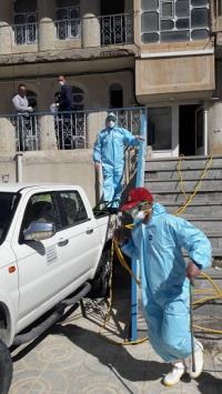 به منظور مقابله با ویروس بیماری کرونا انجام می شود؛   ضدعفونی و گندزدایی ساختمانها و دفاتر شرکت آبفای استان ایلام  به طور روزانه