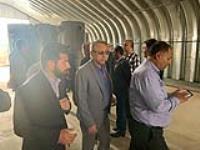 جلسه شورای انسجام بخشی باحضور مشاور وزیر نیرو و مسئول بازسازی عتبات عالیات وزارت نیرو در پایانه مرزی مهران
