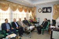 دیدار مدیرعامل شركت آب و فاضلاب استان ایلام با رئیس كل دادگستری استان