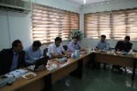 دومین جلسه کارگروه آب و انرژی استان در شرکت آبفای شهری استان  ایلام برگزار شد