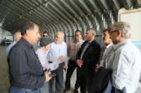 مسئول ستاد عتبات عالیات وزارت نیرو از زیرساختهای اربعین شرکت آبفا درمرز مهران بازدید کرد