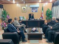 مدیر عامل شرکت آب و فاضلاب  در دیدار با فرماندار مهران، از  آمادگی شرکت آب و فاضلاب برای خدمت رسانی به زائرین خبر داد