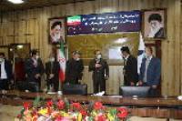 برگزاری مراسم قدردانی از دست اندرکاران پویش هر #هرهفته_الف_ب_ایران تقدیر وزیر نیرو از مدیر عامل شرکت آب و فاضلاب استان ایلام