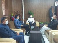 مدیر عامل آبفای استان ایلام با فرماندار دره شهر دیدار و گفتگو کرد