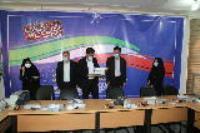 مراسم بزرگداشت روز زن و تجلیل از بانوان شاغل در شرکت آب و فاضلاب استان ایلام برگزار شد