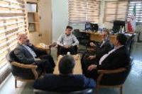دیدار مدیرعامل شرکت آب و فاضلاب استان با مدیر ستاد اقامه نماز استان ایلام