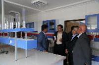 بازدید مدیرعامل شرکت آب و فاضلاب استان  ایلام از تصفیه خانه فاضلاب سرابله