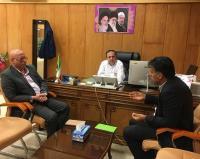 دیدار مدیر عامل  شرکت آب و فاضلاب استان  با معاونین استانداري
