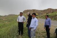 بازدید مدیرعامل شرکت آبفا استان ایلام  از تاسیسات آبرسانی شهرستان هلیلان