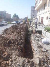 اصلاح 100 متر شبکه فرسوده خیابان مبارزان و پیروزی 19 شهر ایلام