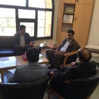 جلسه هم اندیشی و تعامل شرکت آب و فاضلاب با مرکز بهداشت استان ایلام برگزار شد