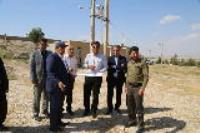 بازدید مدیر عامل شرکت آبفای استان از تاسیسات آبرسانی شهرستان مهران