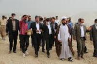 پروژه آبرسانی به روستای چم شیر با 60پیشرفت در دست اجرا است