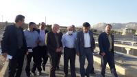 بازدید نماینده مردم ایلام در مجلس شورای اسلامی از روند اجرای فاز دوم تصفیه خانه شهر ایلام