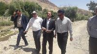 دیدار مدیرعامل آب و فاضلاب استان ایلام با فرماندار شهرستان دره شهر