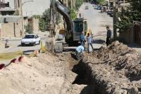اجرای طرح شبکه جمع آوری و تصفیه خانه فاضلاب روستاِی ارمو