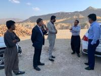 با حضور نماینده دادستان مرکز استان وضعیت آب روستاهای گنجوان مورد بررسی قرارگرفت