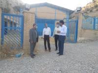 رييس سازمان مديريت و برنامه ريزي استان از تاسیسات آبرسانی شهرستان ملکشاهی بازدیدنموند.