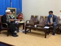 دیدار مدیر عامل آب و فاضلاب استان ایلام با نماینده ولی فقیه در استان