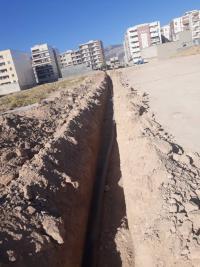 توسعه 350متر شبکه  آب در مجتمع نظام مهندس شهر ایلام