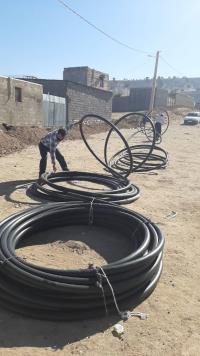 توسعه 1700 متر شبکه آب در شهرستان ملکشاهی