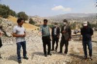 بازدید فرماندار ایلام از بهسازی چشمه زیفل