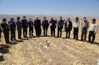کلنگ زنی آبرسانی به روستاهای پنج مزرعه شهرستان چرداول