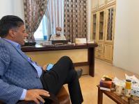 بازدید مدیرعامل شرکت آبفا استان از درمانگاه خیریه حضرت زهرا( ص )