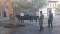 از ابتدای سال جاری تاکنون صورت گرفت رفع بیش از ۱۷۰۰ مورد شکستگی شبکه توزیع آب شرب شهر ایلام