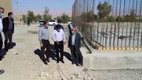 پيشرفت ۴۰ درصدي مخزن ۲ هزار متر مکعبی ذخيره آب در مهران