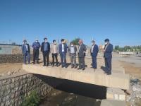 برگزاري جلسه مديريت بحران در شهر پهله زرین آباد درخصوص بالا آمدن آبهای سطحی