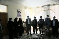 دیدار مدیرعامل شرکت آبفا استان ایلام با خانواده مرحوم سمیر همتی