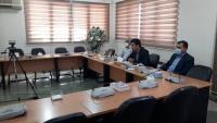 بصورت ویدئو کنفرانس جلسه معاونت منابع انسانی و تحقیقات شرکت آب و فاضلاب استان ایلام  با مدیران ادارات آبفا استان برگزار گردید