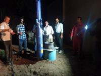 تجهیز و راه اندازی ایستگاه  پمپاژ آب  مجتمع باباگیر  چهل زرعی شهرستان ایوانغرب