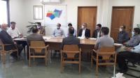 برگزاری جلسه مدیرعامل شرکت آبفای استان ایلام با همکاران معاونت خدمات مشترکین و درآمد