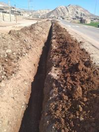 بهره برداری از طرح نوسازی شبکه آب شرب روستای گنداب شهرستان آبدانان