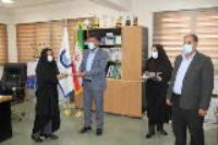 به مناسبت هفته عفاف و حجاب از بانوان کارمند محجبه شرکت آب و فاضلاب استان ایلام  تجلیل بعمل آمد