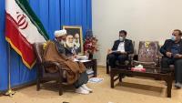 به مناسبت هفته صرفهجویی در مصرف آب دیدار مدیرعامل آبفا استان ایلام با نماینده ولی فقیه در این استان