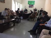 بازدید نماینده مردم ایلام از تأسیسات آبرسانی به شهر صالح آباد و روستاهای تابعه