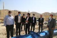 بازدید دادستان ایلام از طرح  آبرسانی به شهرستان ملکشاهی