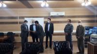 مراسم معارفه سرپرست جدید امور آبفای شهرستان ایوان  برگزار گردید