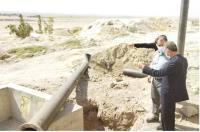 بازید فرماندار مهران از پروژه های آبرسانی، این شهرستان