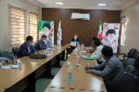 جلسه کارگروه آب و انرژی پدافند غیر عامل استان، در شرکت آب و فاضلاب استان ایلام برگزار گردید