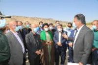 بازدید وزیر نیرو از تصفیه خانه آب شهرستان ملکشاهی